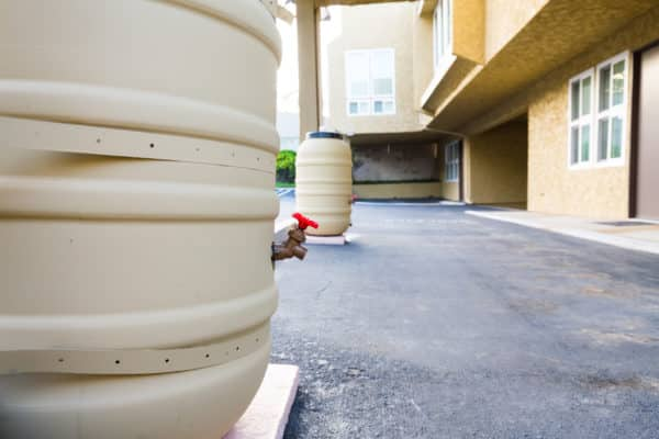 Castle Breckenridge Management, sustainability practices - rain harvest barrels